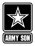 Army Son Decal Sticker