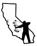 California Bowhunter v1 Decal Sticker