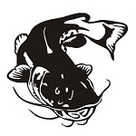Catfish v8 Decal Sticker