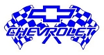 Chevrolet Racing Decal Sticker
