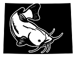 Colorado Catfish Decal Sticker
