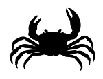 Crab v2 Decal Sticker