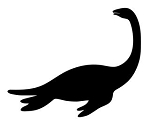 Dinosaur Silhouette v10 Decal Sticker