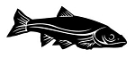 Fish v8 Decal Sticker