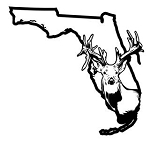 Florida Deer Hunting v2 Decal Sticker