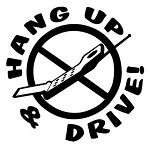 Hang Up & Drive 2 Decal Sticker