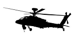 Helicopter v12 Decal Sticker