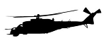 Helicopter v13 Decal Sticker