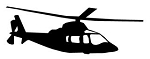 Helicopter v23 Decal Sticker