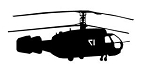Helicopter v28 Decal Sticker