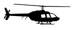Helicopter v33 Decal Sticker