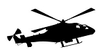 Helicopter v9 Decal Sticker