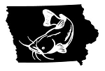 Iowa Catfish Decal Sticker
