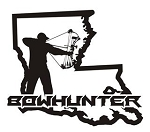 Louisiana Bowhunter v3 Decal Sticker