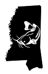 Mississippi Catfish Decal Sticker