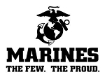 Marines Logo v1 Decal Sticker