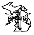 Michigan Bowhunter v2 Decal Sticker