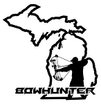 Michigan Bowhunter v3 Decal Sticker