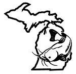 Michigan Catfish v2 Decal Sticker