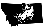 Montana Catfish Decal Sticker
