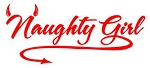 Naughty Girl Decal Sticker
