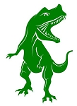 TRex Decal Sticker