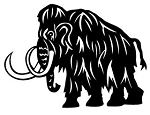 Woolly Mammoth Decal Sticker