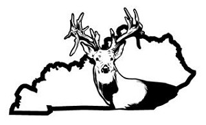 Kentucky Deer Hunting v2 Decal Sticker