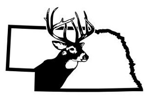 Nebraska Deer Hunting Decal Sticker