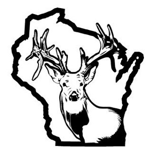 Wisconsin Deer Hunting v2 Decal Sticker