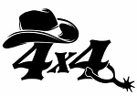4x4 Cowboy Decal Sticker