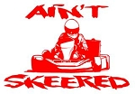 Ain't Skeered Shifter Kart Decal Sticker