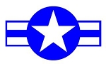 Air Force Star Decal Sticker