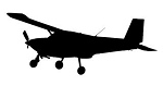 Airplane v2 Decal Sticker