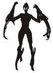 Alien Creature v6 Decal Sticker