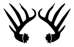 Antlers Decal Sticker