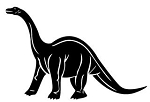 Apatosaurus Decal Sticker