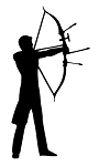 Archery v2 Decal Sticker