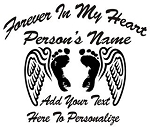 Baby Memorial v2 Decal Sticker