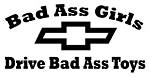 Bad Ass Girls Chevy Decal Sticker