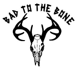 Bad To The Bone Deer Hunting Decal Sticker