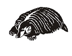 Badger v2 Decal Sticker