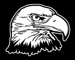 Bald Eagle Head v8 Decal Sticker