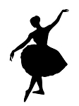 Dance | Ballet Decals Stickers