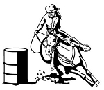 Barrel Racer v2 Decal Sticker