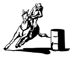 Barrel Racer v4 Decal Sticker