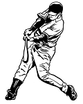 Baseball Hitter v3 Decal Sticker