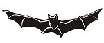 Bat v3 Decal Sticker