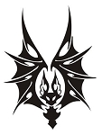 Bat v5 Decal Sticker