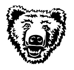 Bear Head v1 Decal Sticker